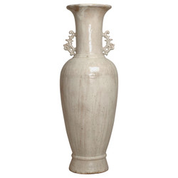Two - Handle Vase - Crackle