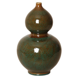 Gourd Vase - Amazon Green - Small