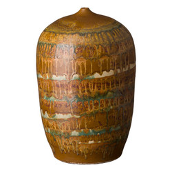 Cocoon Vase - Nutshell Brown - Large