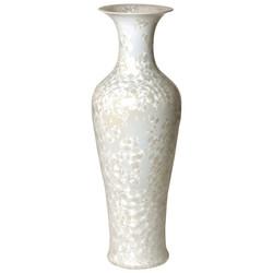 Fishtail Vase - Crystal Taupe