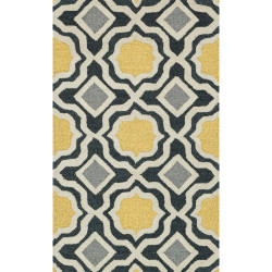"Loloi Weston Rug  HWS01 Charcoal / Gold - 2'-3"" x 3'-9"""