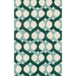 "Loloi Weston Rug  HWS04 Blue / Green - 3'-6"" x 5'-6"""