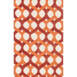 "Loloi Weston Rug  HWS04 Red / Orange - 3'-6"" x 5'-6"""