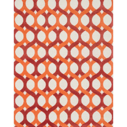 "Loloi Weston Rug  HWS04 Red / Orange - 7'-9"" x 9'-9"""