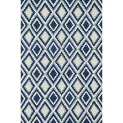 "Loloi Weston Rug  HWS13 Ivory / Blue - 3'-6"" x 5'-6"""