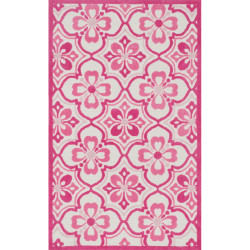 """Loloi Zoey Rug  HZO01 Pink - 5'-0"""" x 7'-0"""""""