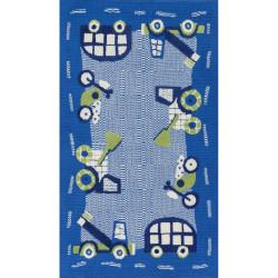 """Loloi Zoey Rug  HZO02 Blue / Green - 2'-0"""" x 3'-0"""""""