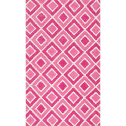 """Loloi Zoey Rug  HZO04 Pink - 3'-0"""" x 5'-0"""""""