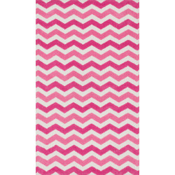 """Loloi Zoey Rug  HZO07 Pink - 3'-0"""" x 5'-0"""""""