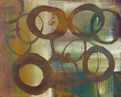 Art Classics 11 Circles on Green Plaid