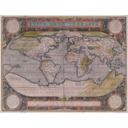 Paragon Antique World Map