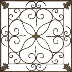 Paragon Aged Floral Panel