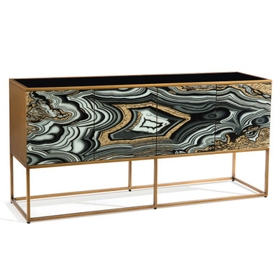 John Richard I Dream of Agate Four-Door Cabinet