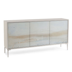 John Richard River Three-Door Cabinet