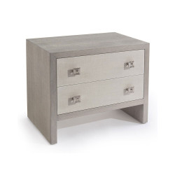 John Richard Chepstow Two-Drawer Nightstand