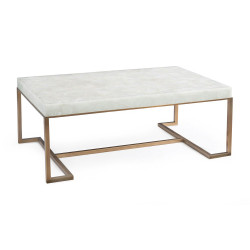 John Richard Rectangular Calcite Coffee Table
