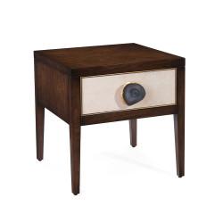 John Richard Isola Single-Drawer Side Table