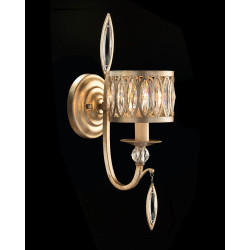 John Richard Marquise Crystal One-Light Wall Sconce