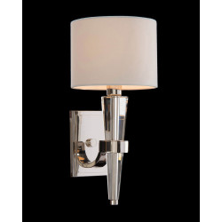 John Richard Crystal Cone Sconce