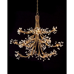 John Richard Sixteen-Light Halogen Chandelier