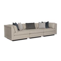 Fusion 3 Piece Sectional Sofa