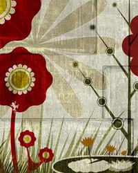 Art Classics Garden Mural 3