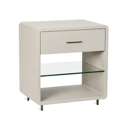 Alma Bedside Chest - Sand