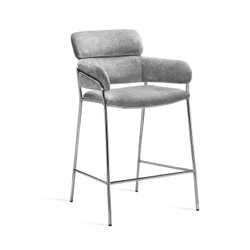 Marino Counter Stool - Ocean Grey