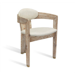 Maryl Dining Chair - Whitewash