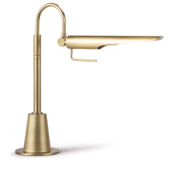 Regina Andrew Raven Task Lamp - Natural Brass