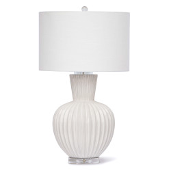 Regina Andrew Madrid Ceramic Table Lamp - White