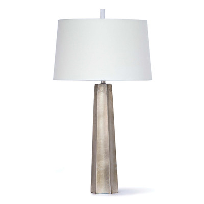 Regina Andrew Celine Table Lamp - Ambered Silver Leaf
