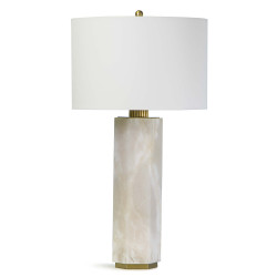 Regina Andrew Gear Alabaster Table Lamp