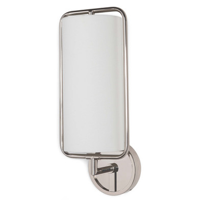 Regina Andrew Geo Rectangle Sconce - Polished Nickel