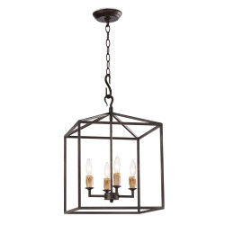 Regina Andrew Cape Lantern Small - Black Iron