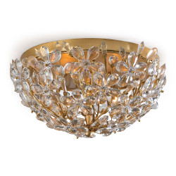 Regina Andrew Cheshire Flush Mount - Gold Leaf