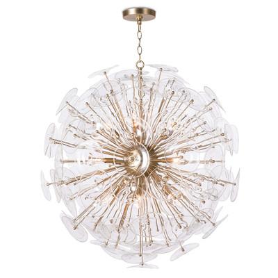 Regina Andrew Poppy Glass Chandelier - Clear