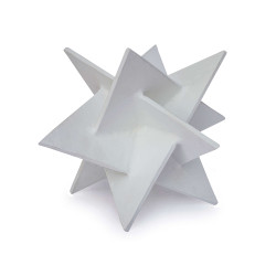 Regina Andrew Origami Star Small - White