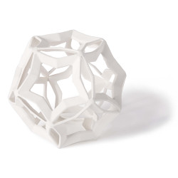 Regina Andrew Geometric Star Large - White
