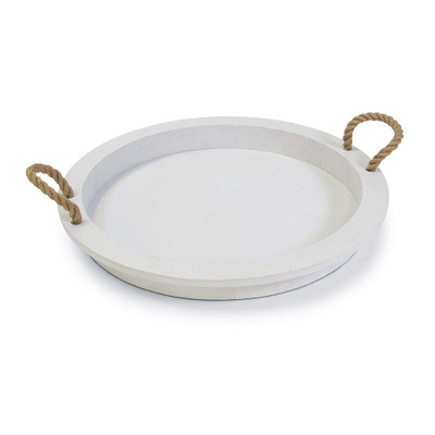Regina Andrew Aegean Serving Tray - White
