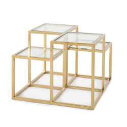 Regina Andrew Astoria Side Table - Gold