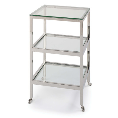 Regina Andrew Alister Side Table - Polished Nickel