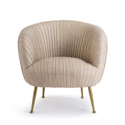 Regina Andrew Beretta Leather Chair - Cappuccino