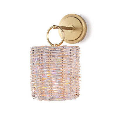 Regina Andrew Nantucket Sconce - Natural Brass