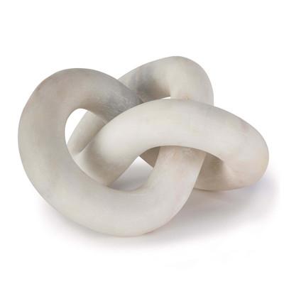 Regina Andrew Cassius Marble Sculpture - White
