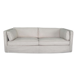 Regina Andrew Gypsy Sofa - Cappuccino White Leather