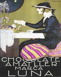 Art Classics Chocolate Amatller Marca Luna