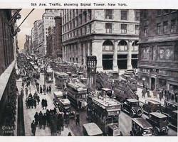 Art Classics Fifth Avenue Traffic, N.Y.