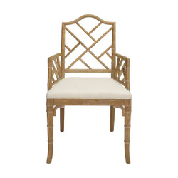 Worlds Away Bristol Chair - Ceursed Oak