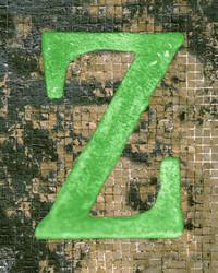 Art Classics Letter Z